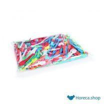 Wegwerp-ijslepelset, pu 500 stuks, 9 cm, gekleurd